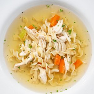 chicken-noodles soup
